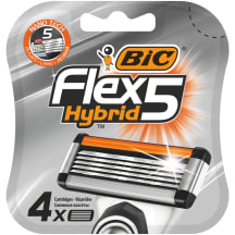 Rezerves Bic Flex 5 Hybrid 4 gab.
