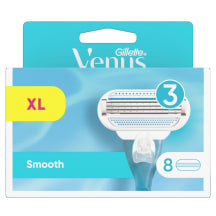 Gillette Venus Smooth kasetes 8 gab.