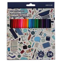 Värvipliiatsid 24pcs AW21