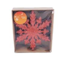 Ziemassvētku dekori 6gab. sarkani AW20