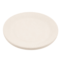 Papīra šķīvji RIMI BASIC d18cm, 20 gab