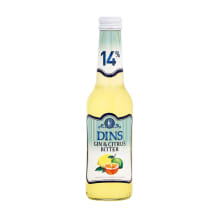Alko. kokteilis Dins Citrus Bitter 14% 0,25l