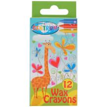 Vaškiniai pieštukai Centrum 12 spalvų