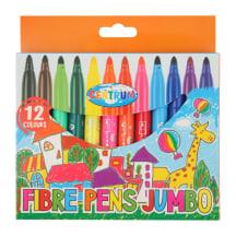 Flomasteriai Centrum 12 spalvų