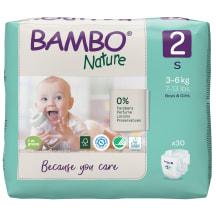 Sauskelnės BAMBO 2 3-6 kg, 30 vnt