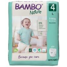 Sauskelnės BAMBO keln. 4 7-14 kg, 20 vnt
