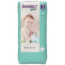 BAMBO sauskelnės 3 (4-8 kg), 52 vnt