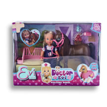Rotaļlieta ārste Evi ar zirgu EL AW20