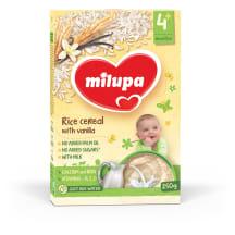 Vanilės skonio ryžių košė Milupa 4m,250g