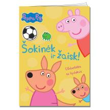 Spalv. knyga PEPPA PIG. ŠOKINĖK IR ŽAISK