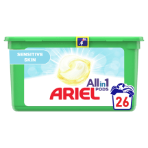 Tabletes veļas mazgāš. Sensitive,26GAB