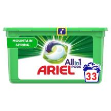 Veļas mazgāšanas kapsulas Ariel MS 33g