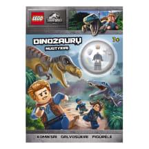 Knyga LEGO JURASSIC WORLD
