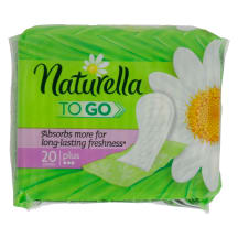 Hig.ikl.NATURELLA TO GO,20vnt.