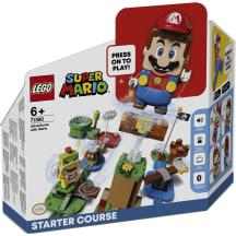 M/ä Mario seikluste alustusrada LEGO