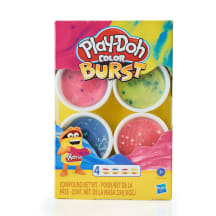 Plastilino rinkin. PLAY DOH COLOR BURST E6967