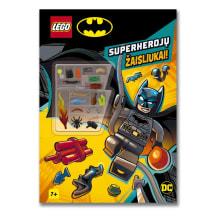 Knyga LEGO DC SUPER HEROES