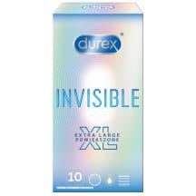 Prezervatyvai DUREX Invisible XL, 10vnt