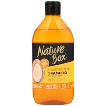 """Nature Box šampūnas """"Argan"""" 385ml"""