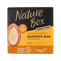 """Nature Box kietas šampūnas """"Argan"""" 85g"""