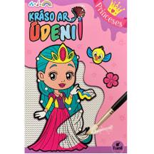 Grāmata Krāso ar ūdeni. Princeses