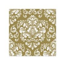 Salvetes 33X33CM BEUTIFULL MOMENTS GOLD