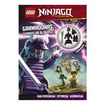 Knyga LEGO NINJAGO. GARMADONAS