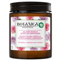 Svece Botanica Rose & Geranium