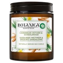 Kv. žvakė Botanica Vetiver & Sandalw.
