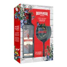 Gin Beefeater London Dry 40%vol 0,7l klaasiga