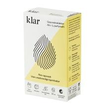 Tabletės indaplovėms KLAR, 22 tabl.
