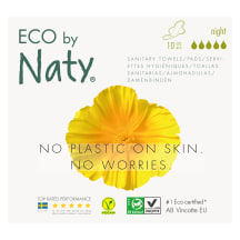 Higien. paketai ECO by Naty Night, 10