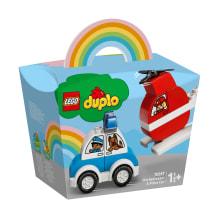 Konstr.Ugniagesių sraigtasparnis LEGO