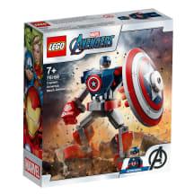 Konstr.Kapitono Amerikos šarvai-robotas LEGO