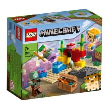Mängukomplekt Lego Minecraft The Coral