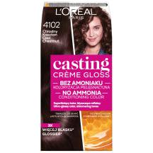 Plaukų dažai Casting šalta kašt. #4102
