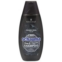 Šampūnas SCHAUMA MEN 3IN1 CHARCOAL 400ml