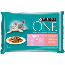 Ėdalas katėms Purina ONE JUNIOR 4x85g