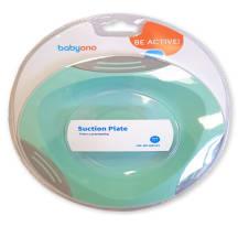 Šķīvis ar piesūceknēm BabyOno