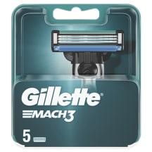 Sk.Vyrams Galvutės Gillette Mach3, 5vnt