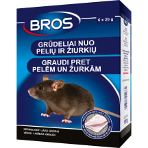Bros graudi pret pelēm un žurkām 120 g