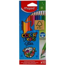 Värvipliiats ColorPeps Star 12tk AW21