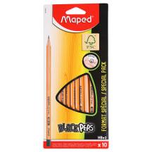 Harilik pliiats BlackPeps HB 10tk AW21