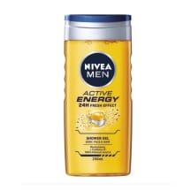 Dušigeel Nivea Men Active Energy 250ml