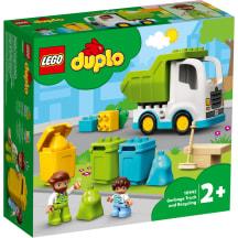 Konstr.Lego Prügiveoauto 10945