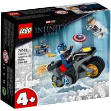 Konstr.Lego Kapt. Amerika un Hidra 76189