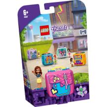 Konstr.Lego Olīvijas spēļu kubs 41667