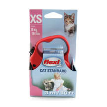 Katės pavadėlis FLEXI STANDART, 3m, 8 kg