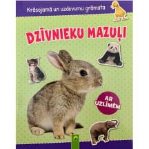 Gr.Dzīvnieku mazuļi ar uzlīmēm