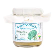 Brokolių tyrelė MARMALUZI 100g, 6 +